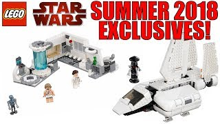 LEGO STAR WARS SUMMER 2018 IMPERIAL LANDING CRAFT (75221) + HOTH MEDICAL CHAMBER (75203)
