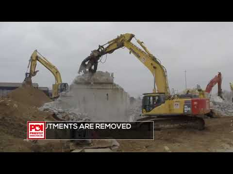 Kitchener Bridge Demolition by Priestly Demolition