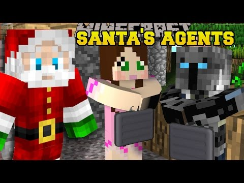 Minecraft: SANTA'S SECRET AGENTS!! - THE WINTERROWD - Custom Map [1]
