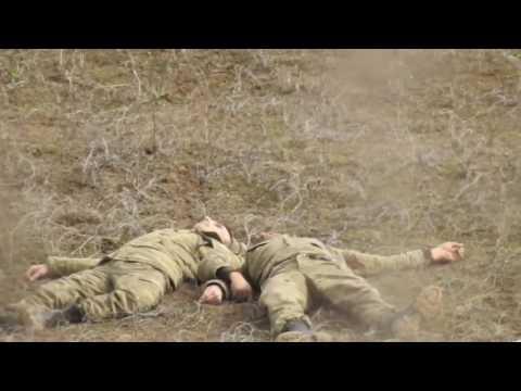Azerbaijani death soldiers in the neutral zone - Feb 25 2017