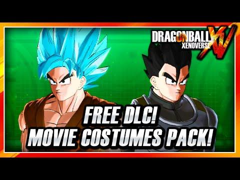 Dragon Ball Xenoverse PS3: Free DLC - Movie Costume DLC Pack - Resurrection F Costumes!