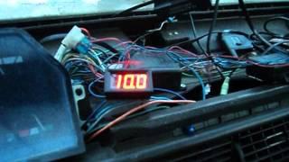 Цифровой указатель температуры москвич 2141