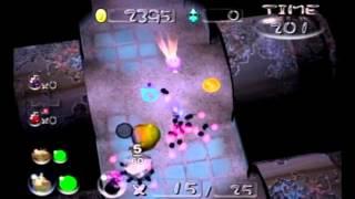 Pikmin 2 - Challenge Mode - Bully Den(どっすん迷路) 32606