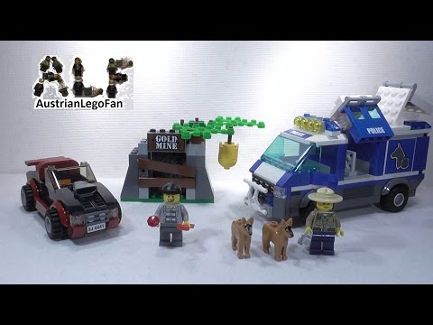 Lego City 4441 Police Dog Van / Polizei Hundetransporter - Lego Speed Build Review