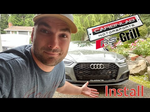 How To Install A CarbnLab RS Grill On Your Audi B9 S5