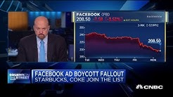 Jim Cramer: I'm 'shocked' certain mainstream companies are joining Facebook ad boycott