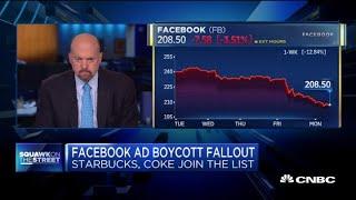 Jim Cramer: I'm 'shocked' Certain Mainstream Companies Are Joining Facebook Ad Boycott
