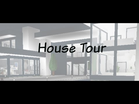 Roblox Welcome To Bloxburg Modern House Tour Youtube
