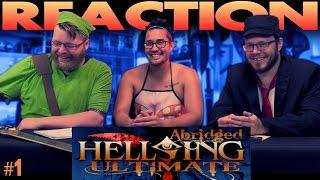Hellsing Ultimate Abridged REACTION!! # 1