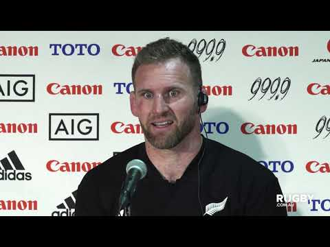 Bledisloe Cup: All Blacks press conference, Yokohama