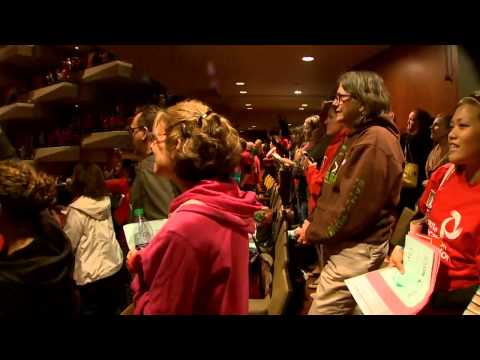 Seattle School District teachers vote to strike 9-3-15 (King5 News)