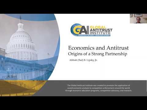 GAI Online Lecture Series -  Economics & Antitrust