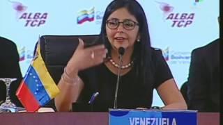 Venezuela: Maduro and Rodriguez Address ALBA Meeting in Caracas