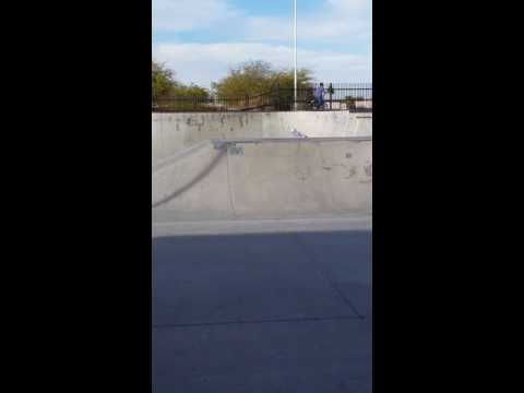 Low backflip on BMX at x court