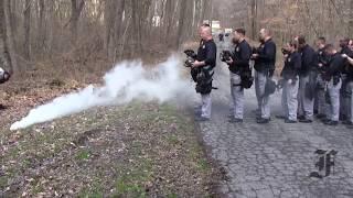 Frederick Police Academy: Tear Gas Training