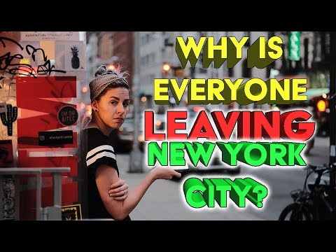 Top 10 reasons people are leaving New York.