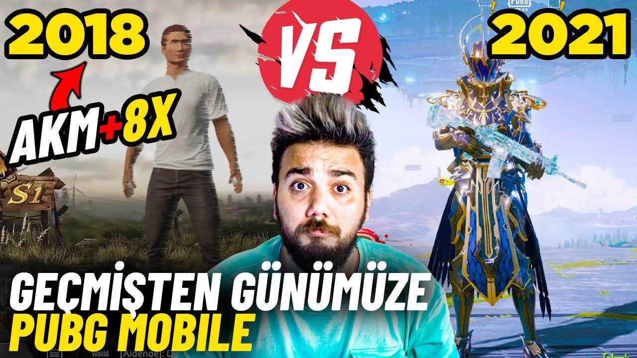 Download AKM İLE 8X SPREY ATMAK MÜMKÜN MÜ ? PUBG Mobile Eski VS Yeni #1