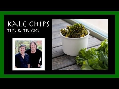 Kale Chips: How to Make Them at Home!