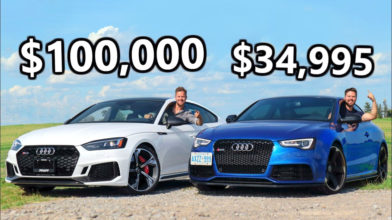 New Audi RS5 Sportback vs 2013 Audi RS5 // Clash Of Quattros