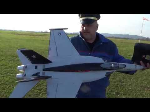 Freewing F/A-18 4S High Performance 64mm EDF Jet Maiden flight