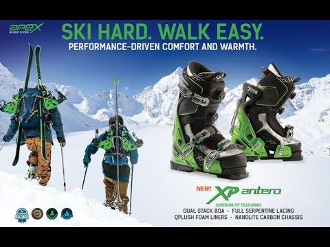 APEX SKI BOOTS Product Line 2018-19 Clinic