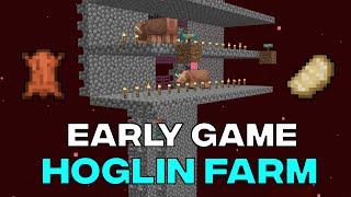Potential Early Game Hoglin Farm 20w07