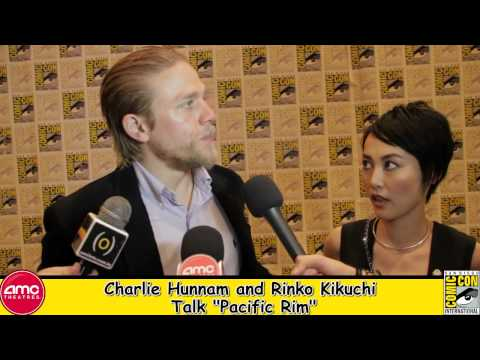 Charlie Hunnam and Rinko Kikuchi Talk Pacific Rim At Comic Con 2012