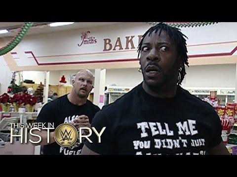 Steve Austin, Booker T Und Der Supermarkt Brawl: This Week In WWE History – 10. Dezember 2015