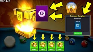 8 Ball Pool || Opening 4 Berlin Champion Boxes || 3 Legendary Boxes