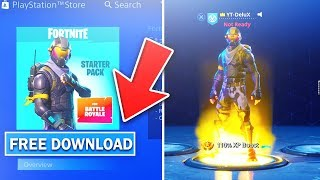 "How To DOWNLOAD ""Rogue Agent Starter Pack"" FOR *FREE* GAMEPLAY! (Fortnite Battle Royale)"