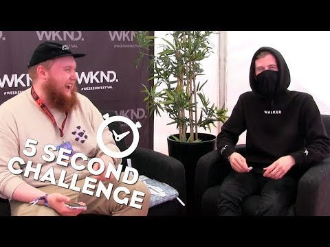ALAN WALKER | 5 Second Challenge