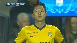 [ 이승우 볼터치 ] 환상 드리블, 시즌 세번째 출전 vs 아탈란타 ( Lee Seung-Woo vs Atalanta )