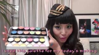 Review :24 Grande Color Eyeshadow Palette & Makeup Brush Set