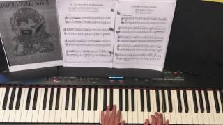 Kommt ein Vogel geflogen - Kinderlieder am Klavier