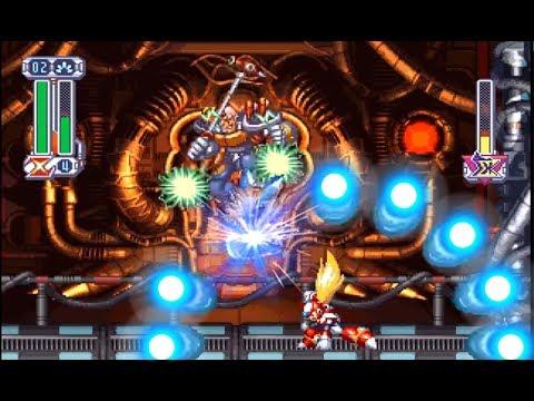 [ASIAN MOD] Megaman X4 - No Damage Completion Run (Zero) 100% / ロックマンX4