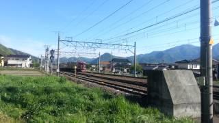 2013/05/12 戸倉駅付近 今井踏切 にて.