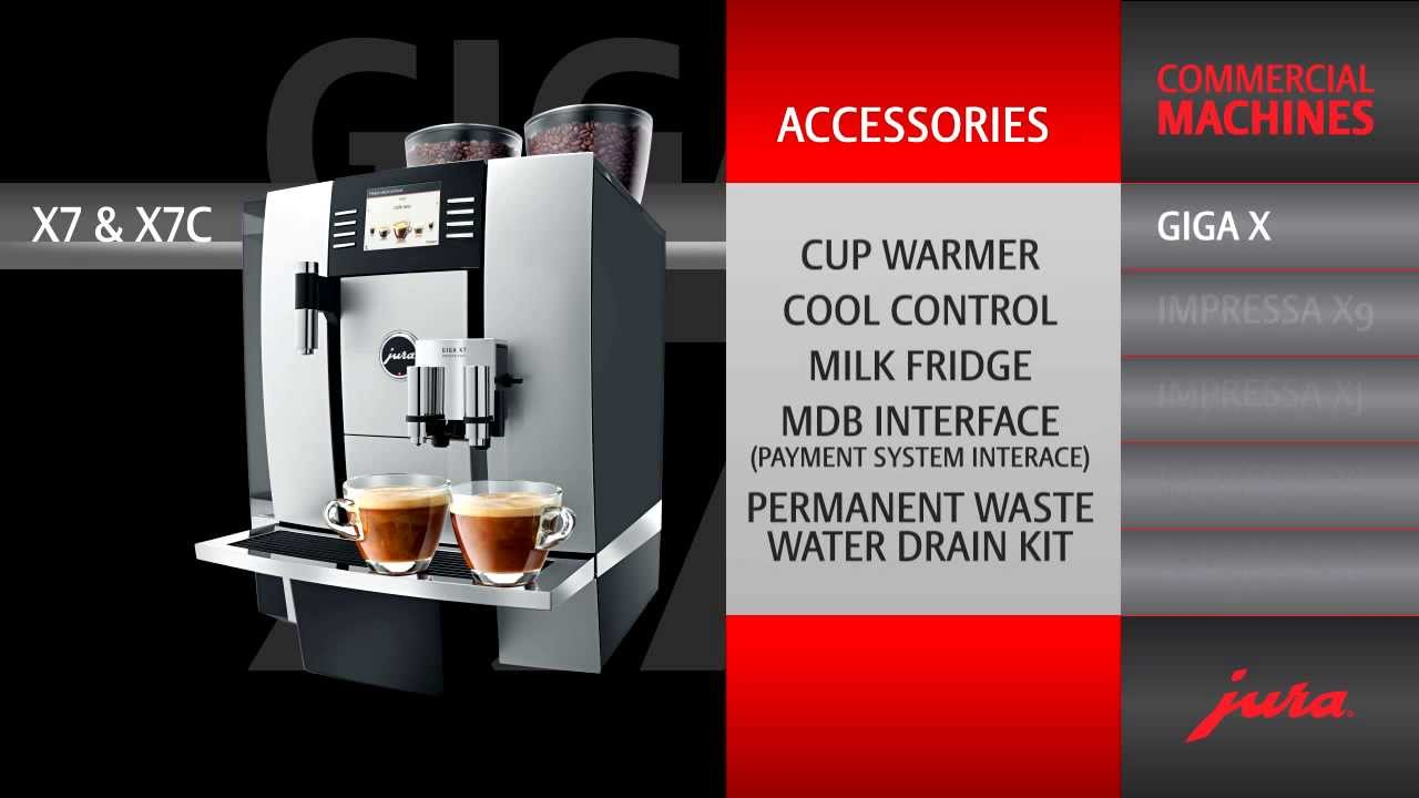 jura giga x7 professional twice the performance for perfect coffee and milk foam youtube. Black Bedroom Furniture Sets. Home Design Ideas