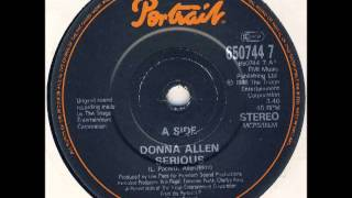 Donna Allen - Serious  HD audio from Vinyl Thumbnail
