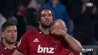2018 Super Rugby Semi-Final: Crusaders vs Hurricanes