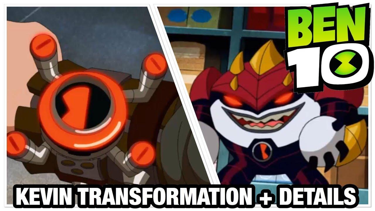 Ben 10 Reboot Season 3 Kevin 11 Transformation + Analysis