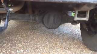 Land Rover Defender Squeaking Underneath - Comes and Goes