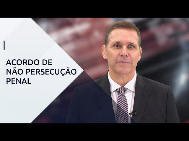 Acordo de não Persecução Penal - com Professor Fernando Capez