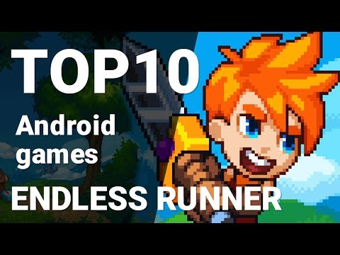 Top 10 Endless Runner Games For Android 2018 [1080p/60fps]