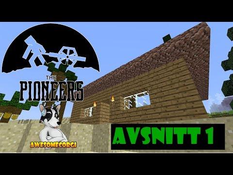 PREMIÄR! BÖRJA FRÅN BÖRJAN! Minecraft The Pioneers hos The Jnx