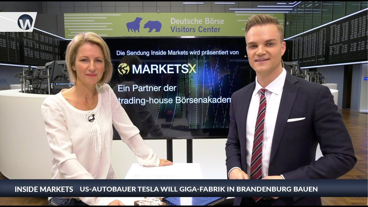 Inside MarketsX: US-Autobauer Tesla will Giga-Fabrik in Brandenburg bauen