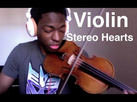 """""""Stereo Hearts"""" Violin Cover By Eric Stanley (Gym Class ..."""