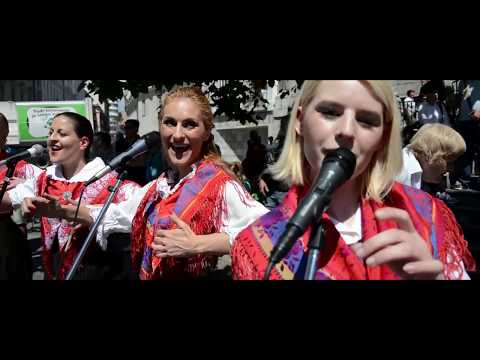 THE WALTZ OF sLOVEnia (Only with human voices) Flash mob - XXL Project by S. & T. Kozlevčar
