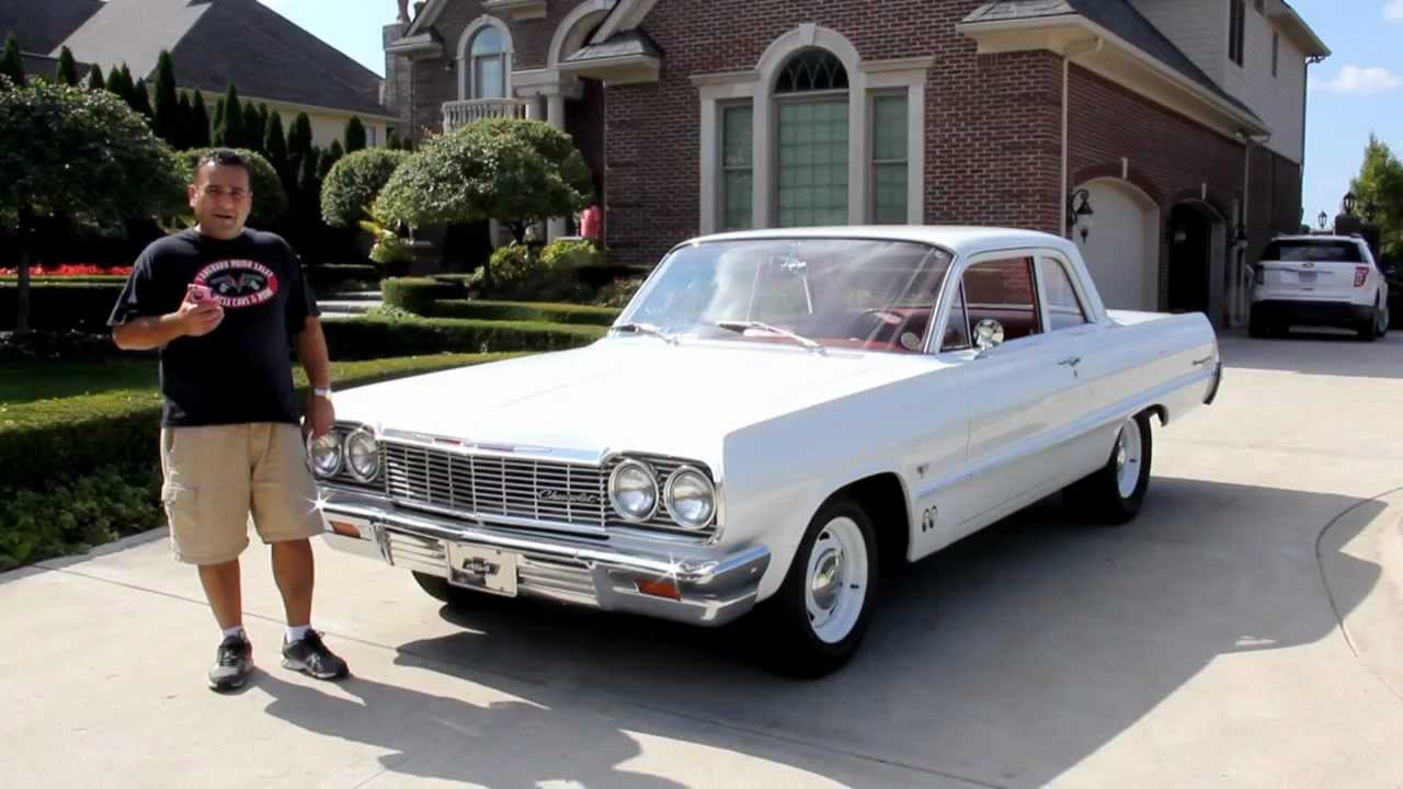 1964 Chevrolet Biscayne Classic Muscle Car for Sale in MI Vanguard ...