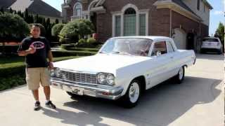 1964 Chevrolet Biscayne Classic Muscle Car for Sale in MI Vanguard Motor Sales