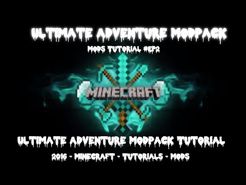 MineCraft-ModPack _ Ultimate Adventure ModPack _ ModPack Install Tutorial